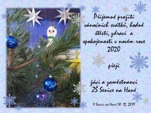 vánoční přání PF 2019